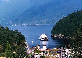 Vancouver Ferry Bowen Island