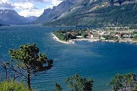 Waterton Lakes National Park British Columbia